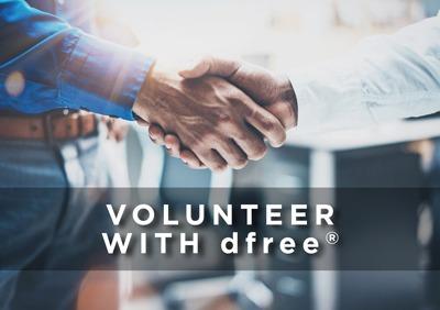 volunteer with dfree